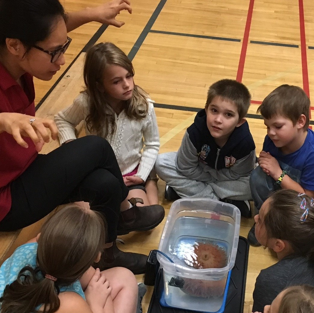 Vancouver Aquarium Visits local school!