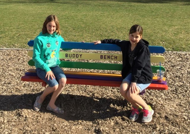 Buddy Bench Success!