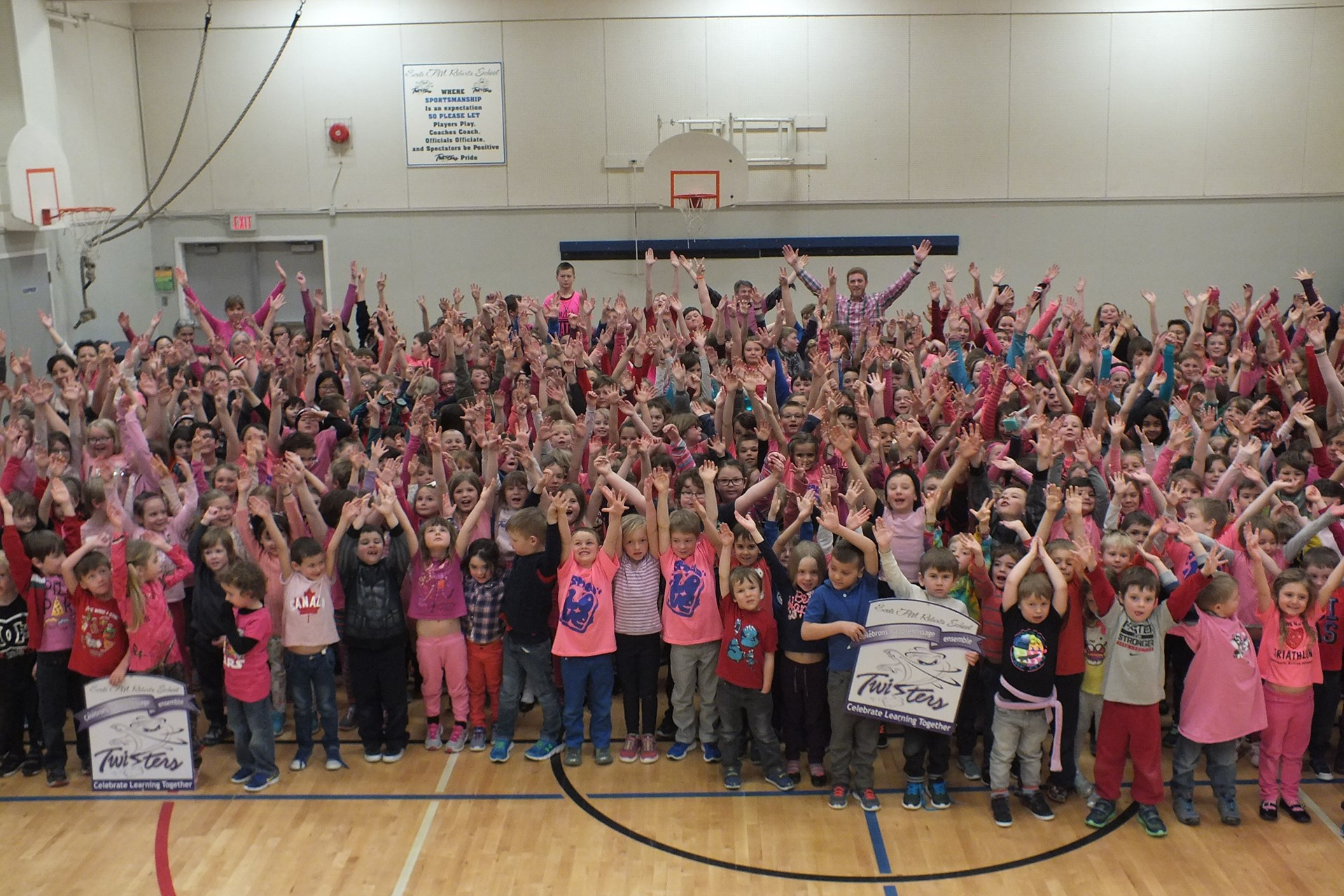 """T.M. Roberts supports Anti-Bullying day with """"How to Be a Friend"""" workshops and assembly."""