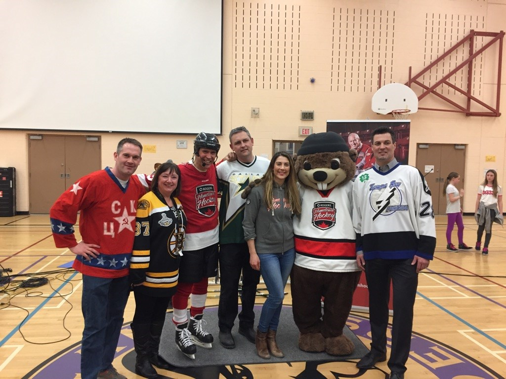 Roger's Hometown Hockey at Parkland Middle School