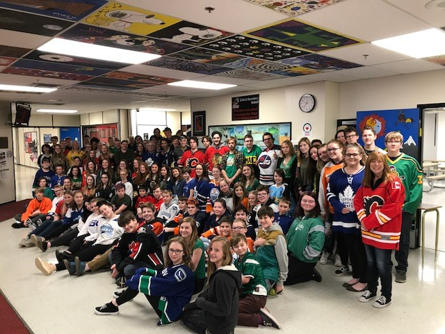 Support for Humboldt at Elkford Secondary School