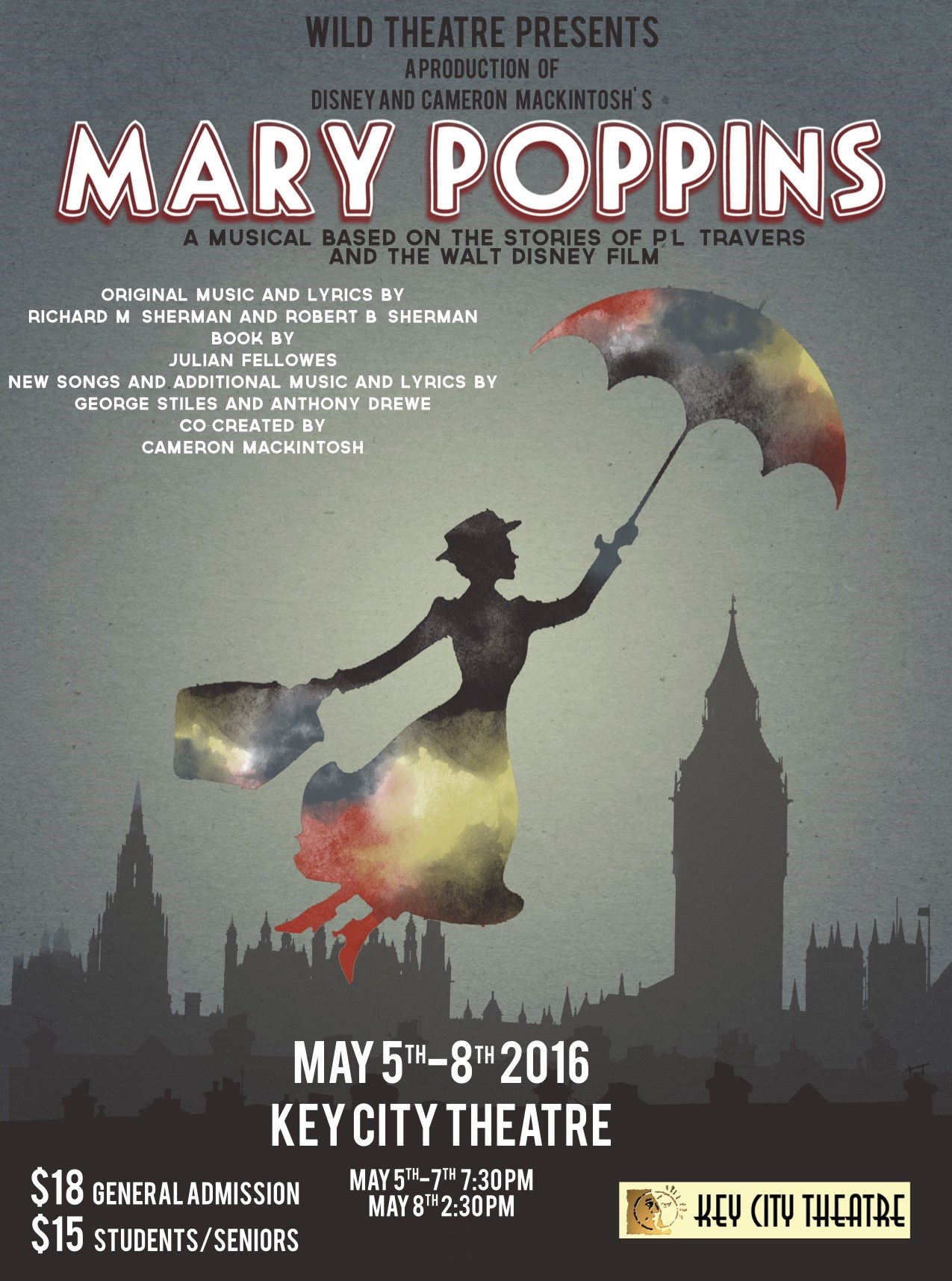 Mary Poppins by Mt. Baker Secondary School Coming Soon!