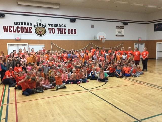 Orange Shirt Day at Gordon Terrace Elementary School
