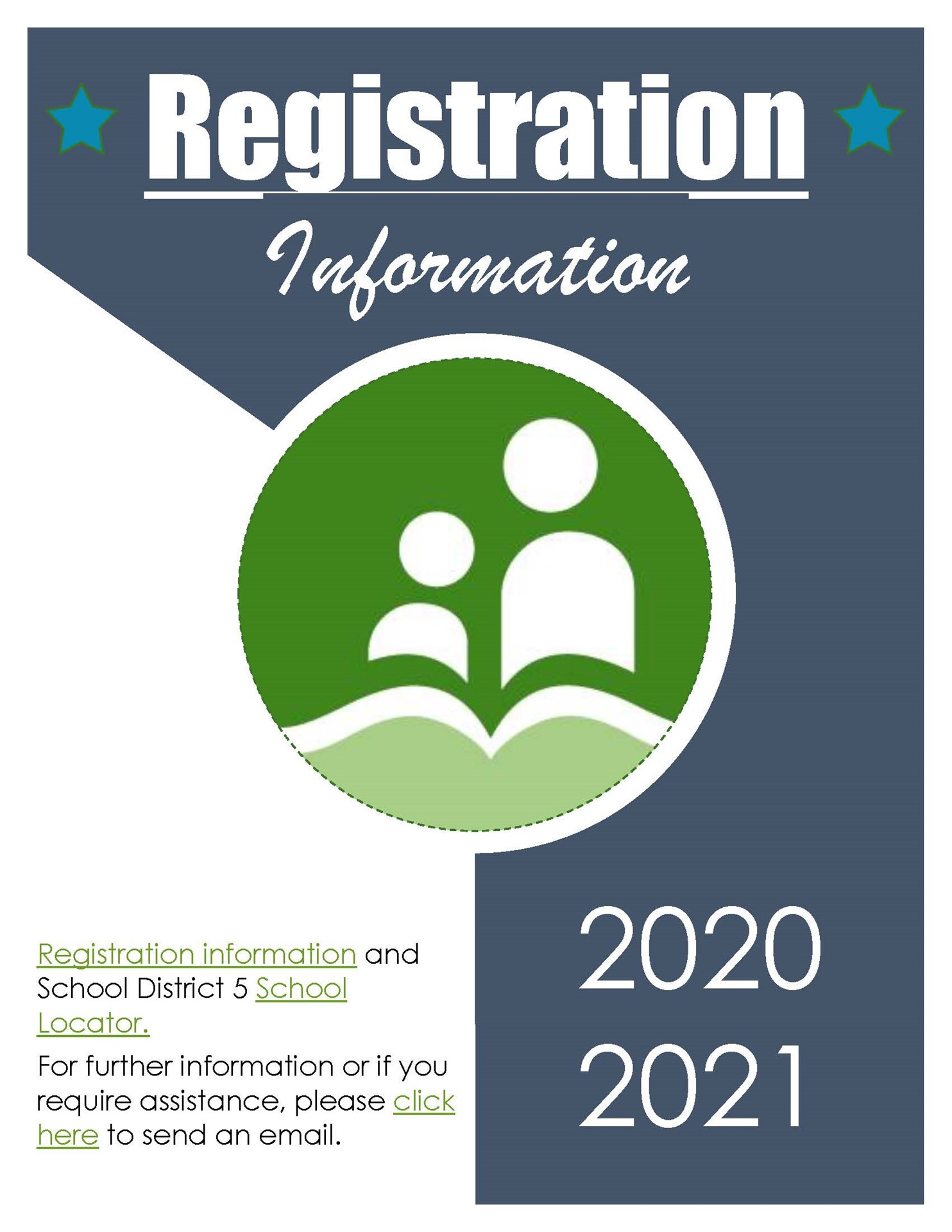 Looking for Registration Information?