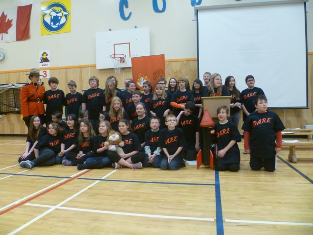 Graduation from Dare for Pinewood Elementary Students