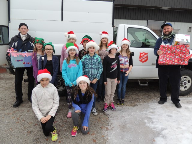 Christmas Spirit at Isabella Dicken Elementary in Fernie