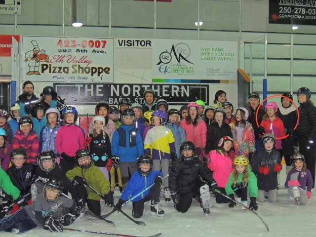 Skating/Hockey Program at Isabella Dicken Elementary School in Fernie