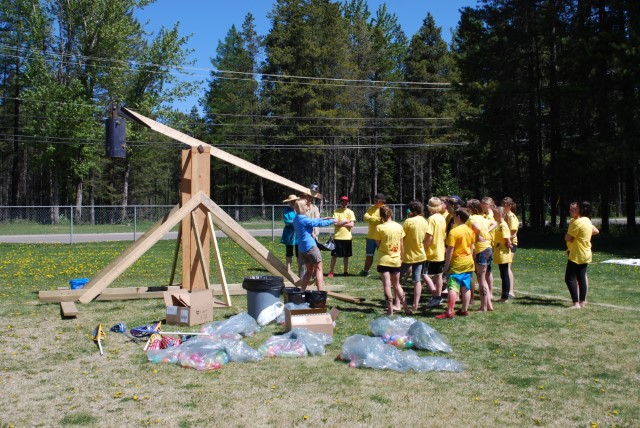 Medieval May at Sparwood Secondary School