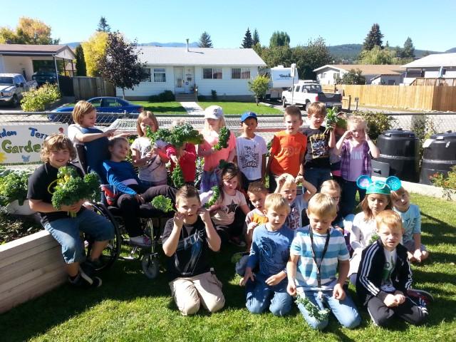 Gordon Terrace Elementary School Garden