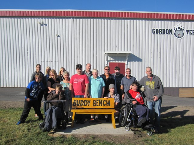 GT gets a Buddy Bench