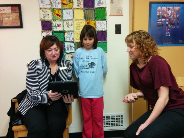 Technology at Work at Isabella Dicken Elementary School!