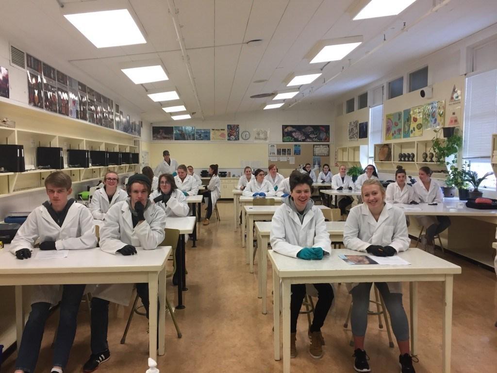 Biology 12 MBSS Students