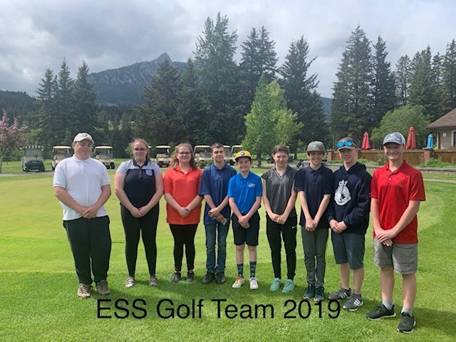 ESS Golf Team 2019