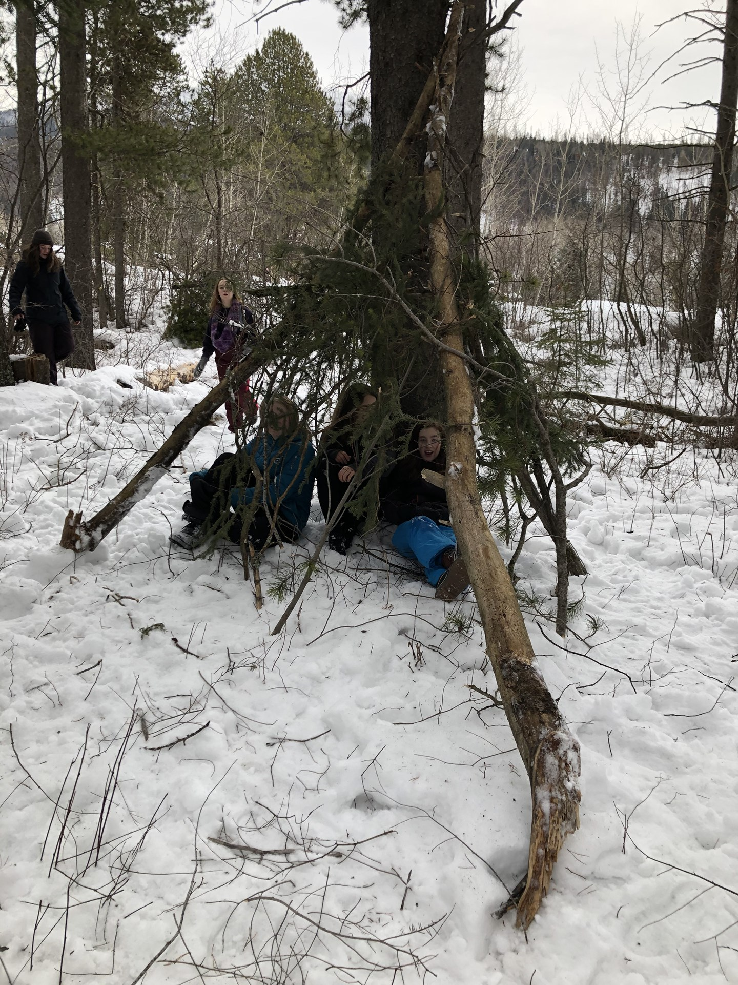 Grade 8 and 9 Outdoor Education Class