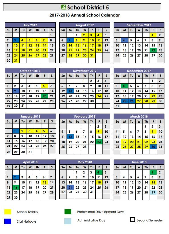 School Calendar  cole Isabella Dicken Elementary School