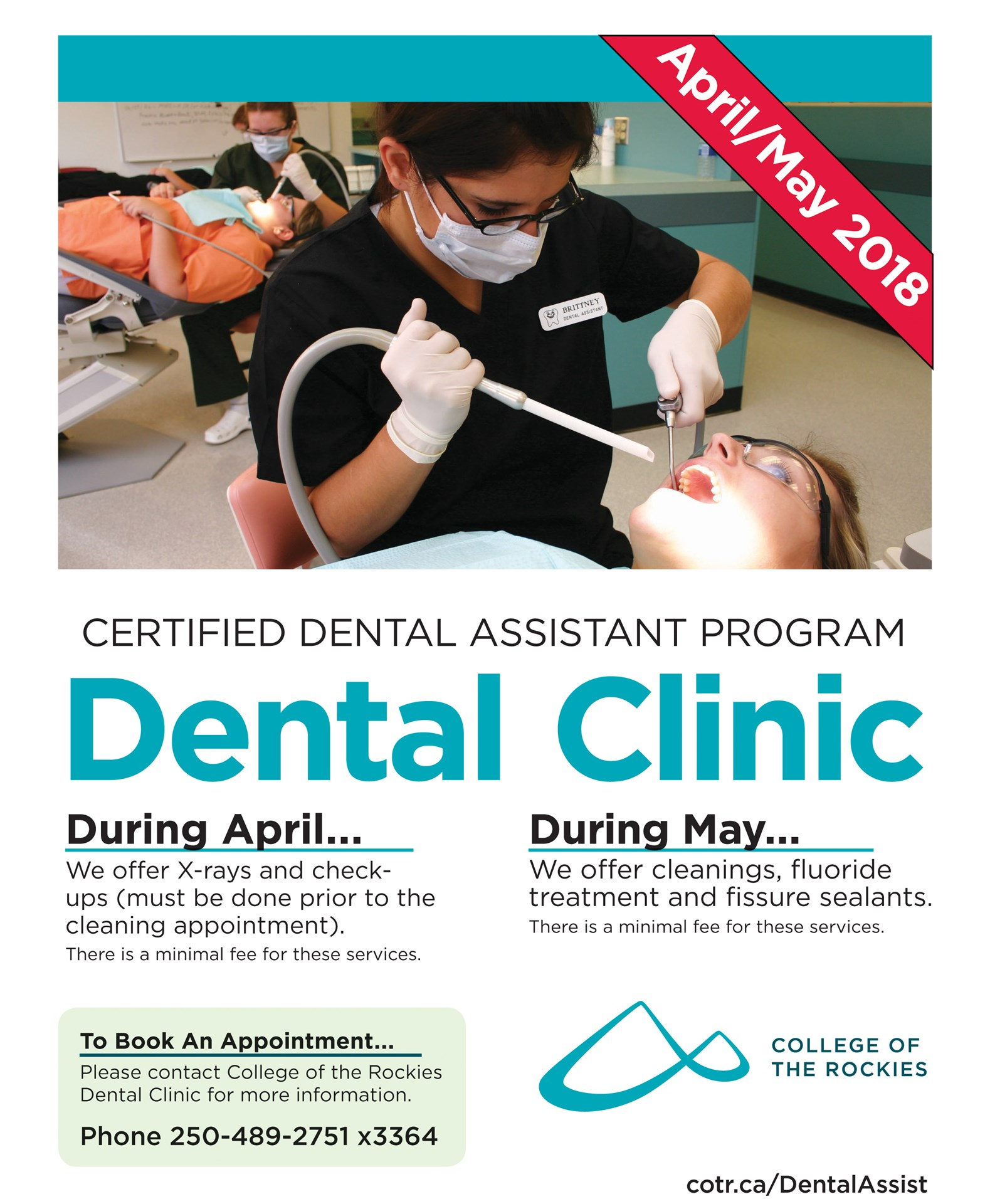Dental Clinic at the College of the Rockies