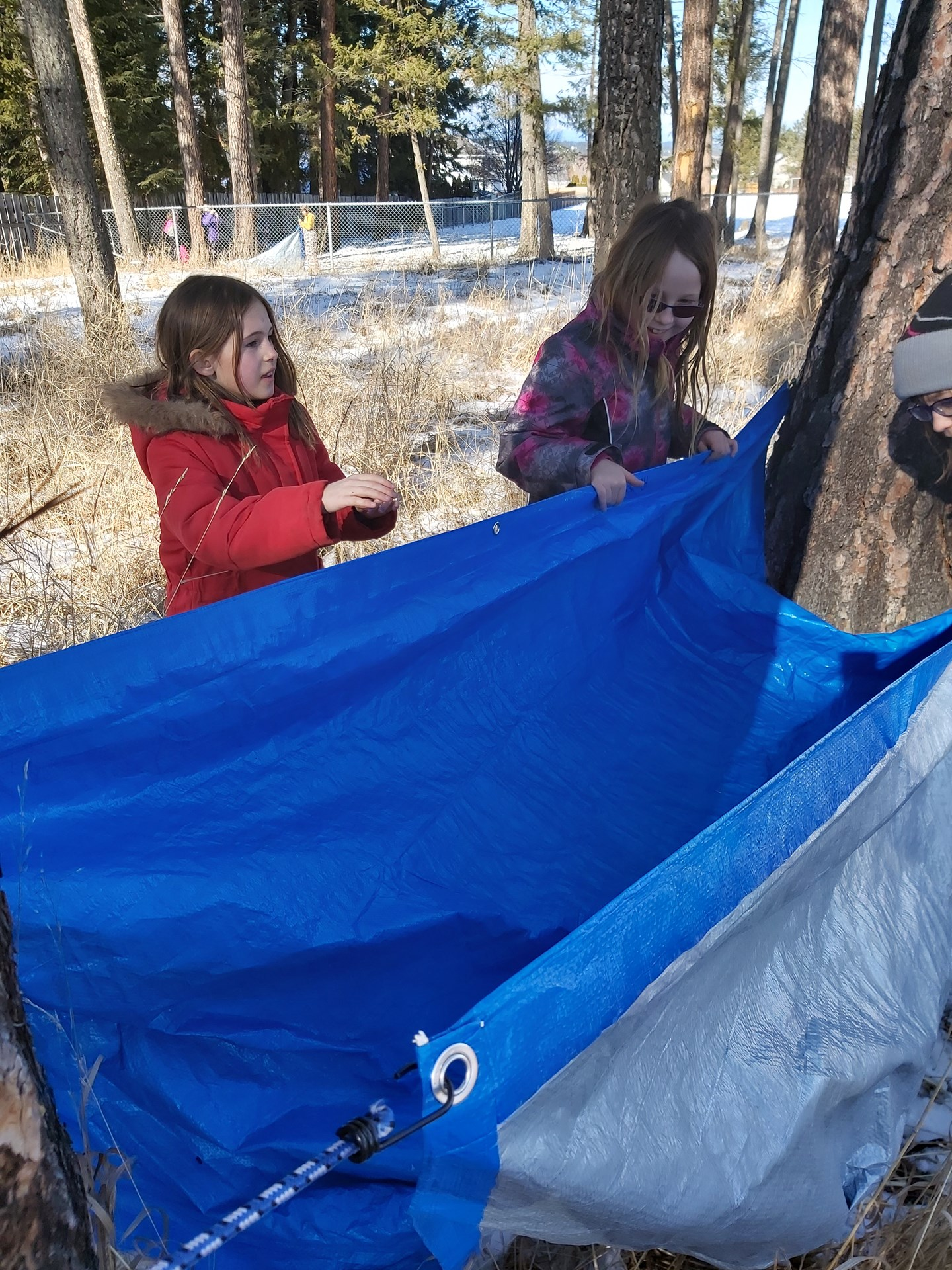 Outdoor Tarp Shelters